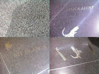Denver Airport Floor Inscriptions